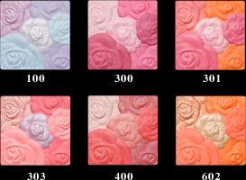 ローズ チーク カラー N 400/100