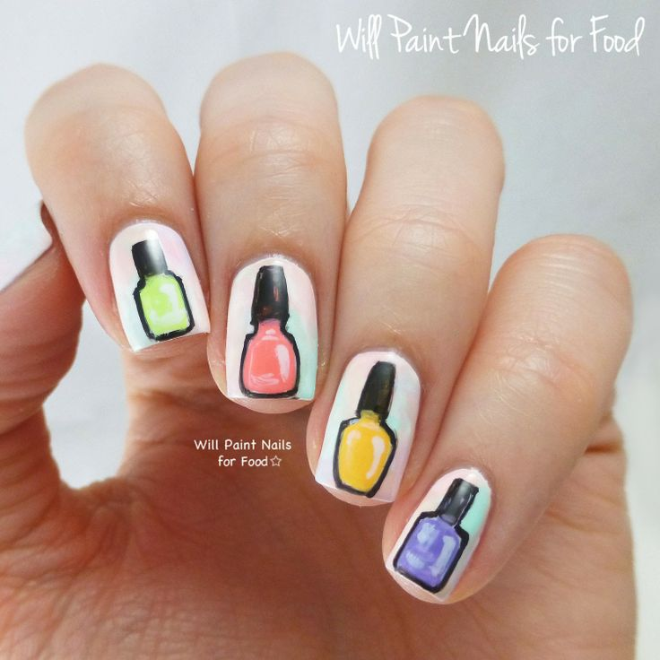 122 Nail Art Designs That You Won T Find On Google Images: 13 Best Uñas De Niñas Images On Pinterest