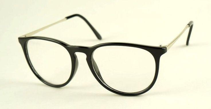 Retro Fashion 2016 Glasses Women Eyewear Vintage Round Clear Lens Frame Metal Legs High Quality Unisex Plain Glasses Eyeglasses