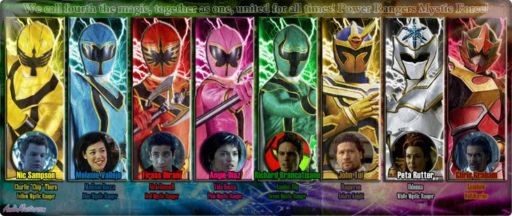 Power Rangers Mystic Force by AndieMasterson