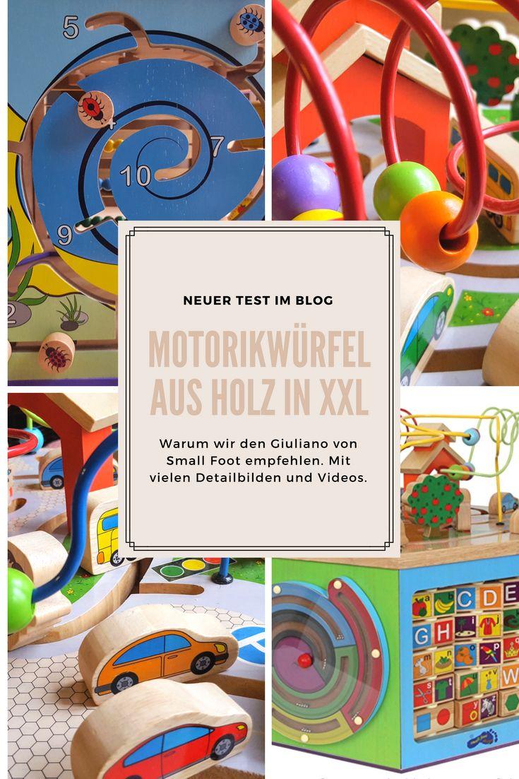Unser Motorikwürfel Holz XXL ist einfach genial. Wir sind begeisterte Montessori-Anhänger und dieses pädagogisch wertvolle Holzspielzeug hat uns begleitet seit unsere Tochter 9 Monate alt ist. Klick für mehr Info und viele Bilder :)!
