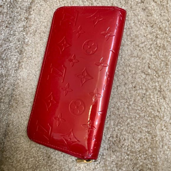 Long Zippy Wallet Monogram Red long Zippy wallet …