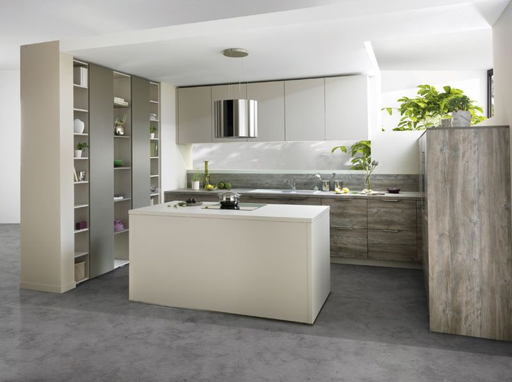 Arcos cube canyon modern kitchen in soft kashmir grey for Kitchen designs in kashmir