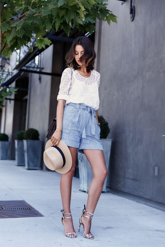 Como está fazendo calor neste Inverno quente,separei alguns looks com short para o final de semana de vocês! ;) Quando pensamos em looks com short, l...