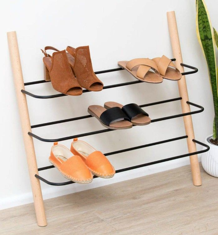 15 Clever Ways To Store Your Shoes And Boots Wooden Shoe Racks Modern Shoe Rack Wall Mounted Shoe Rack