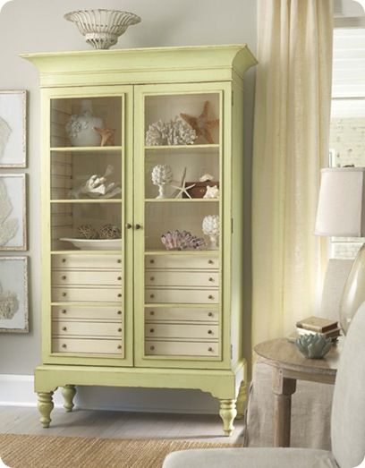 Inspiration in White: Painted Furniture - lookslikewhite Blog - lookslikewhite
