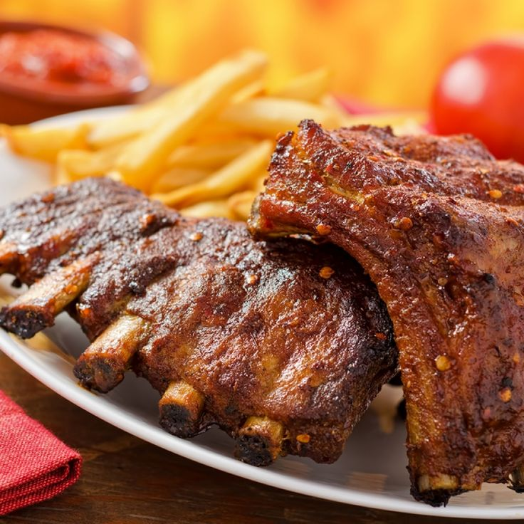 This dry rub ribs recipe is a simple method of baking ribs slowly on low heat. Delicious and tender on the inside, crispy on the outside.. Dry Rub Ribs Recipe from Grandmothers Kitchen.