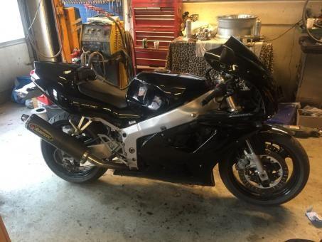 Motorcykler  (Kawasaki)  (ZXR 750) Kawasaki ZXR 750