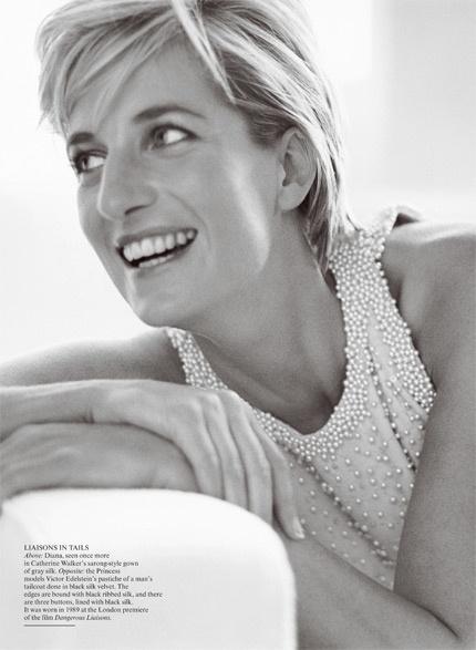Princess Diana by Mario Testino.