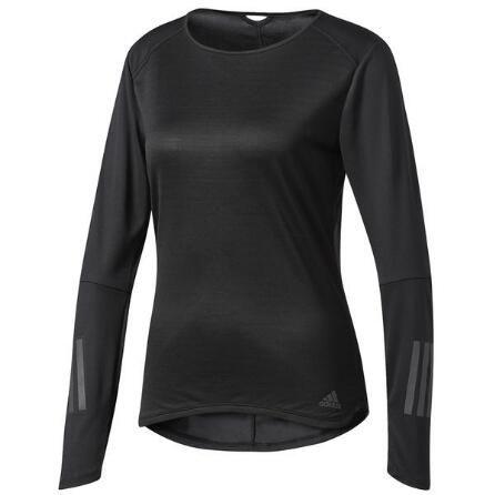 adidas Response Womens Long Sleeve Shirt [MSRP: $40.00]
