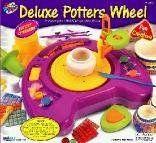 Гончарный круг с ножным приводом - Купить наборы для творчества из гипса, детские наборы для творчества, поделки из гипса для детей по низким ценам - Интернет-магазин игрушек Головастик