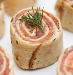 Smoked Salmon Recipe | Salmon Crepes Recipe | Smoked Salmon Appetizers | Cookingnook.com