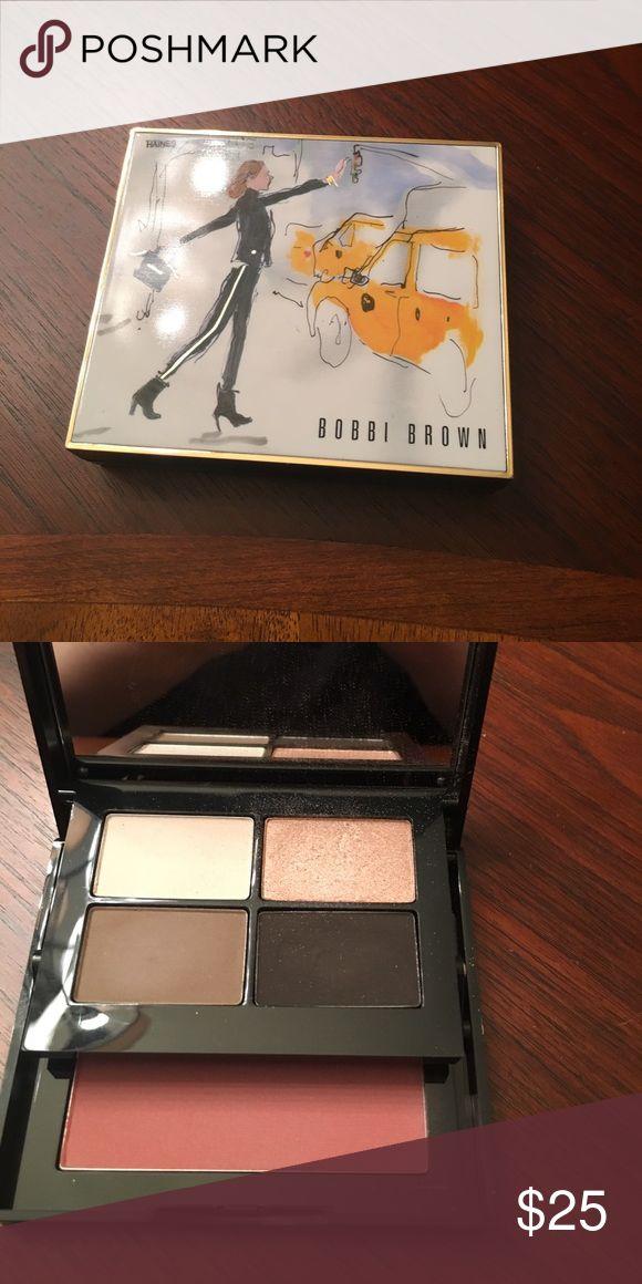 Bobbi Brown palette New York Palette with eye shadow and blush Bobbi Brown Makeup Eyeshadow