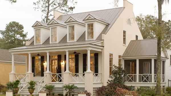 Southernliving.com/hp, Eastover CottageHome Plans, Dreams Home, Southern Living, Coastal Home, Dreams House, Black Shutters, Southern Home, Front Porches, House Plans