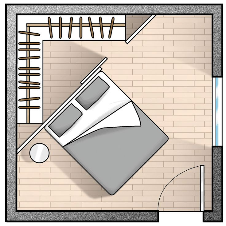 cabina armadio camera piccola