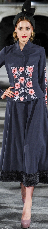 #Farbbberatung #Stilberatung #Farbenreich mit www.farben-reich.com Yulia Yanina Couture Fall 2015