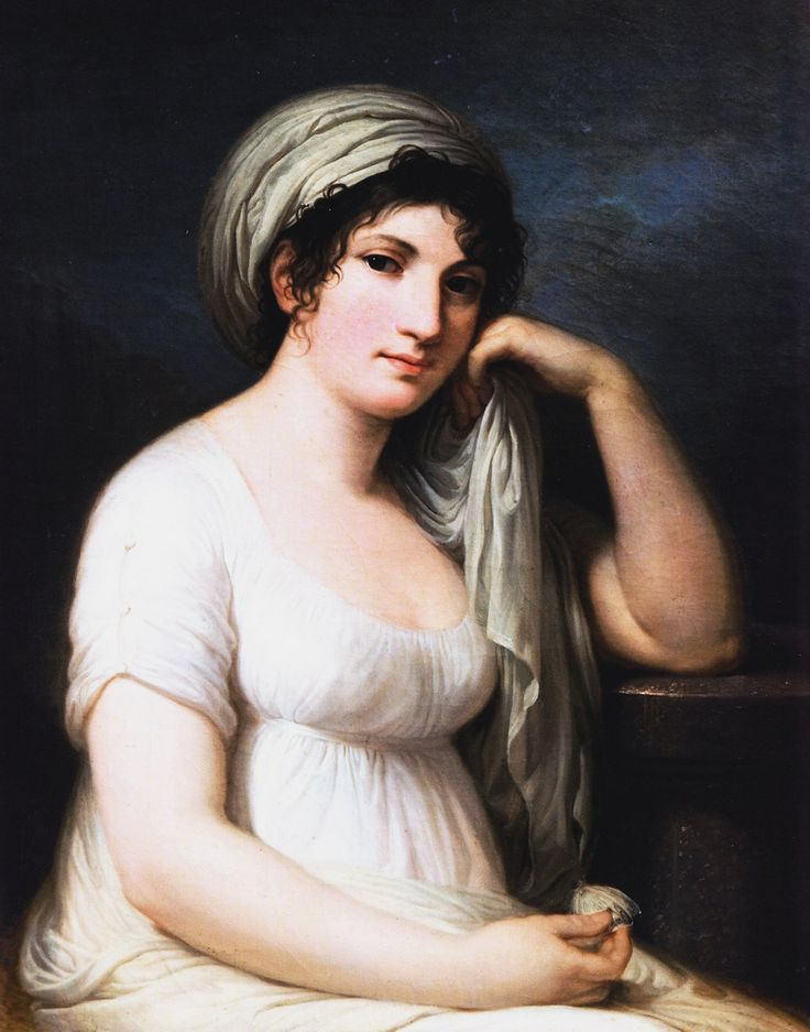 malalakaakihali:  Ritratto della Principessa Elisabetta Giovanna Mellerio Belgiojoso d'Este, 1803-1805 Andrea Appiani