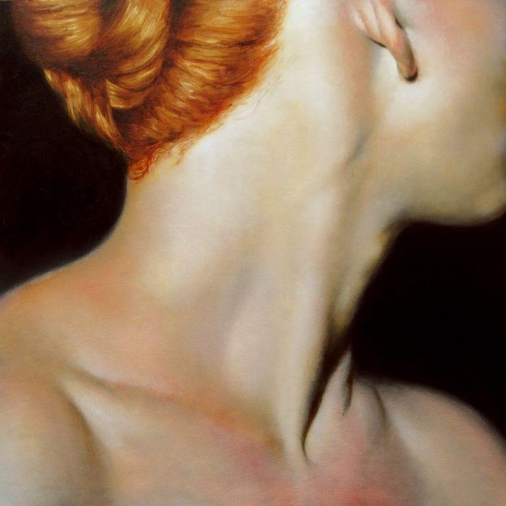 "Saatchi Online Artist: Daniel Maidman; Oil, 2013, Painting ""Alley Turns Her Head"""
