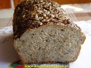 Domowy chleb pszenny pełnoziarnisty - przepisy.net