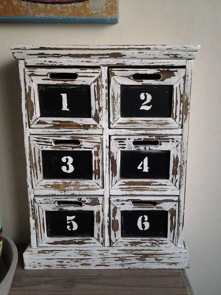 Les 143 meilleures images propos de diy casiers for Patine peinture acrylique