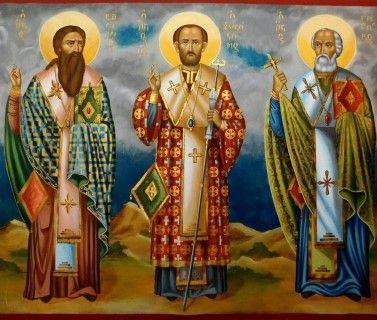 Οι Τρεις Ιεράρχες θα αποτελούν πάντα πρότυπα ακεραιότητας και ήθους.
