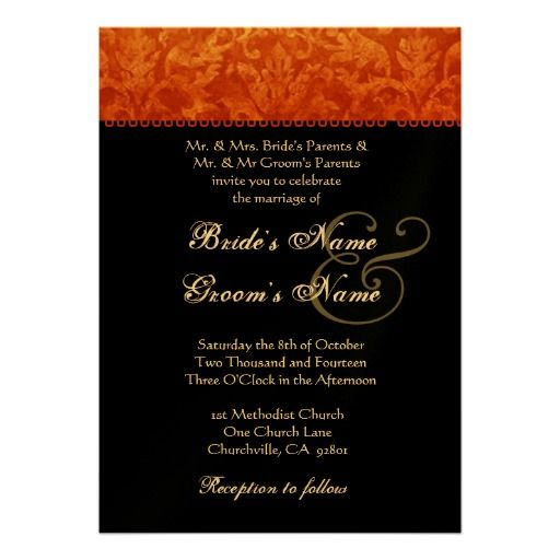 258 best African American Wedding Invitations images on Pinterest