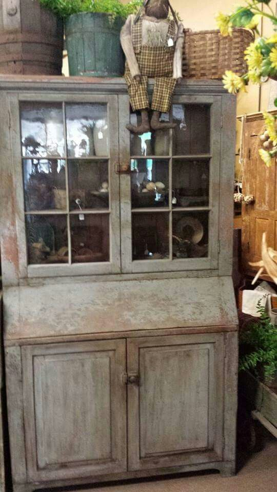 Primitive Cabinets, Primitive Furniture, Country Furniture, Country Decor,  Primitive Antiques, Primitive Country, Primitive Decor, Country Cupboard,  ...