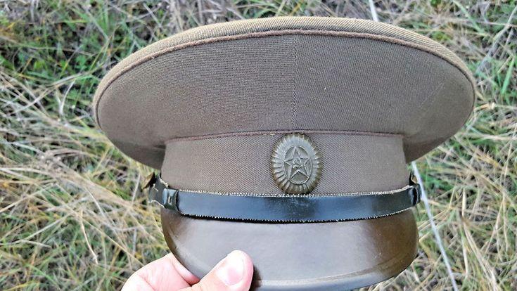 Soviet army cap Soviet Army Field ORIGINAL ceremonial rarity solemn limited SALE