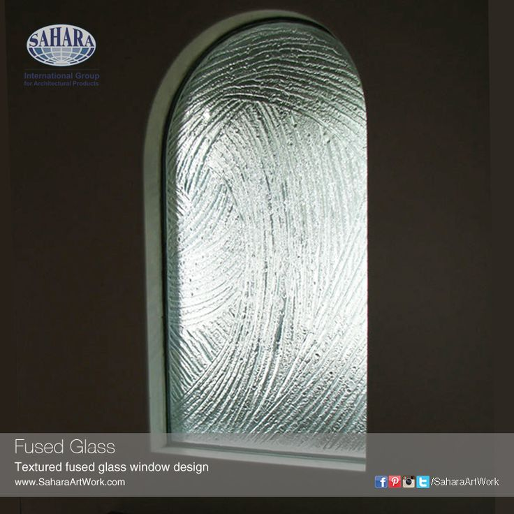 Replace your traditional glass window with textured and designed fused glass to achieve beautiful effects.