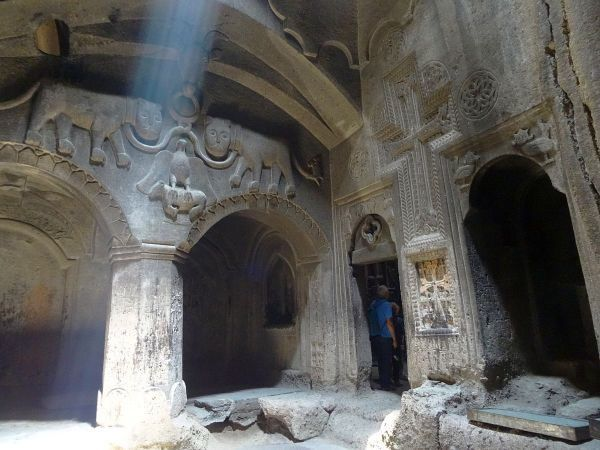 Atrakcje Armenii - Geghard