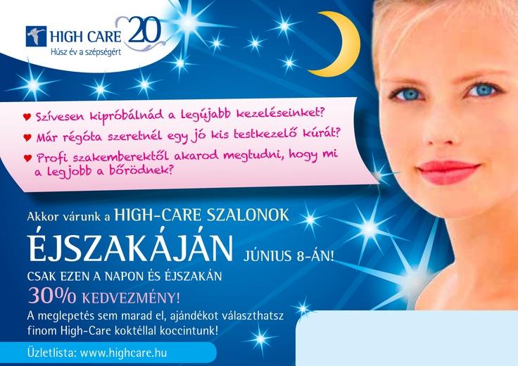 Szalonok Éjszakája www.highcare.hu