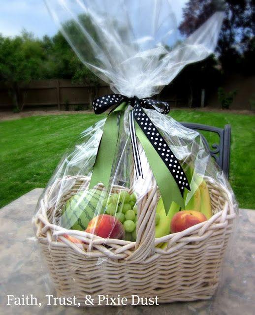 How to make a fruit basket. www.michellelunt.com