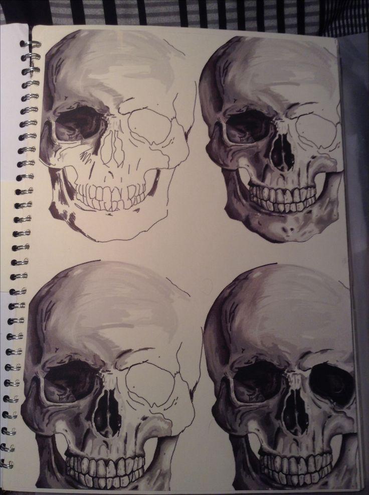 GCSE Sketchbook by Noah Walton