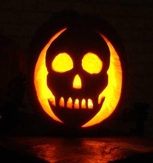 25 best pirate pumpkin carving ideas images on pinterest for Skeleton pumpkin design