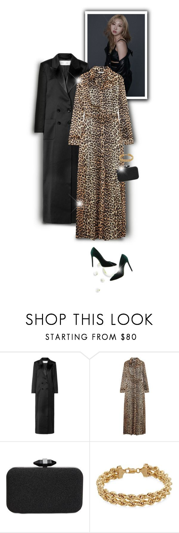 """""""Leopard Maxi Dress"""" by melanie-avni ❤ liked on Polyvore featuring Marques'Almeida, Ganni, INC International Concepts and Marc Ellis"""