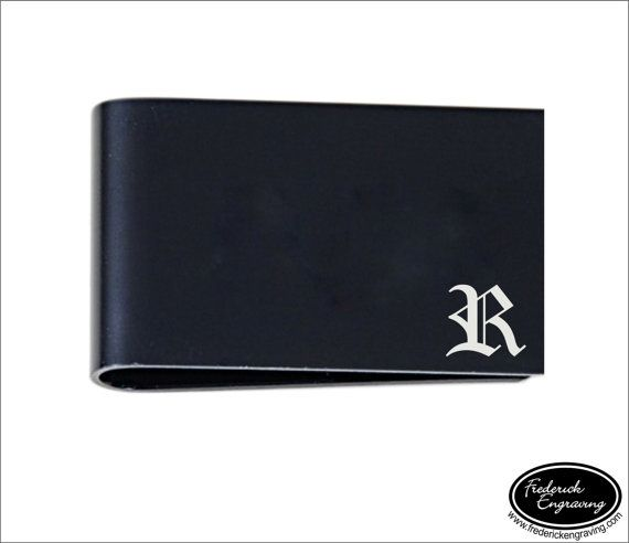 Personalized Money Clip, SHIPS FAST, Engraved Money Clip, Custom Money Clip, Custom Engraved Money Clips for Men, Metal Money Clip LMC005