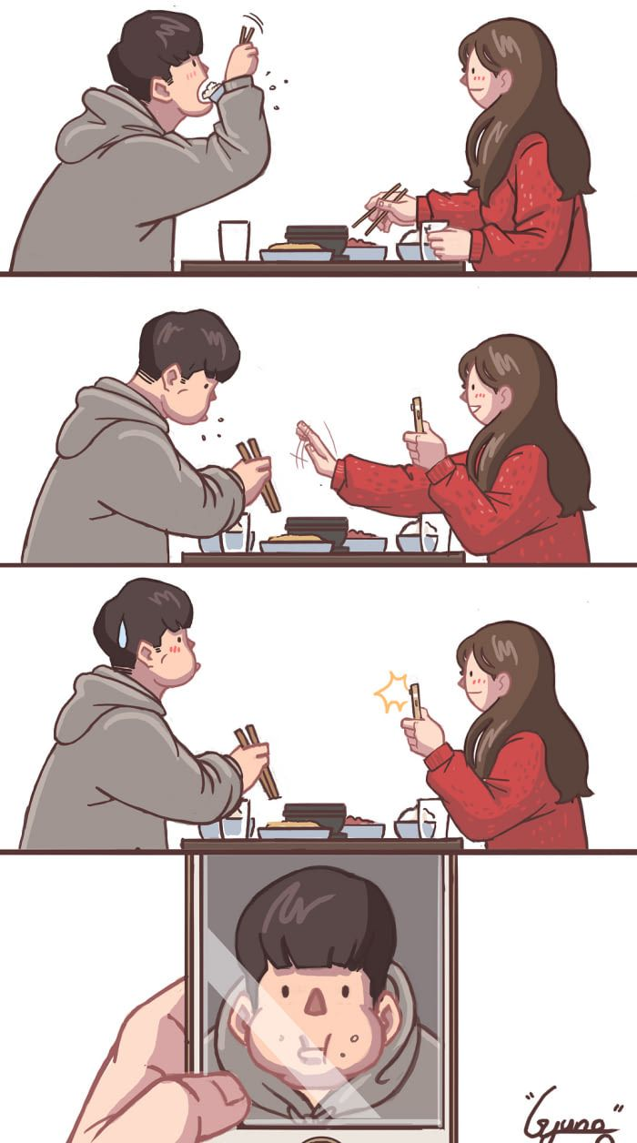15 Beautiful Comics Illustrated How A Sweet Relationship Looks