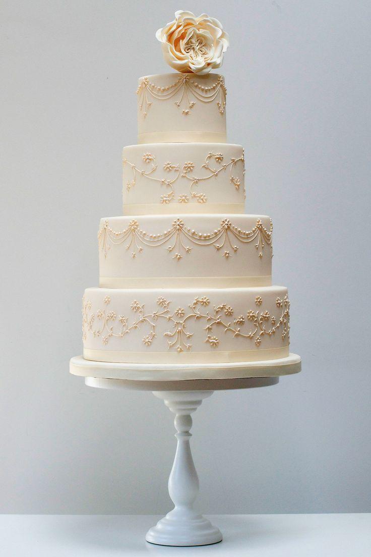 76 best Rainbow Wedding Theme images on Pinterest ... Elegant Rainbow Wedding Cake