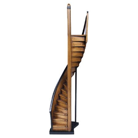 Features:  -Subtle shades of light and dark honey.  -Sinuous curves and arches.  -Basswood construction.  Product Type: -Sculpture.  Style: -Asian Inspired.  Theme: -Historic.  Subject: -Structures an