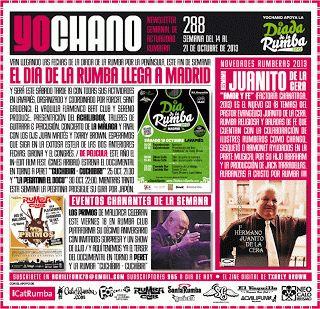 SANT GAUDENCI Rumba Catalana: YOCHANO nº288