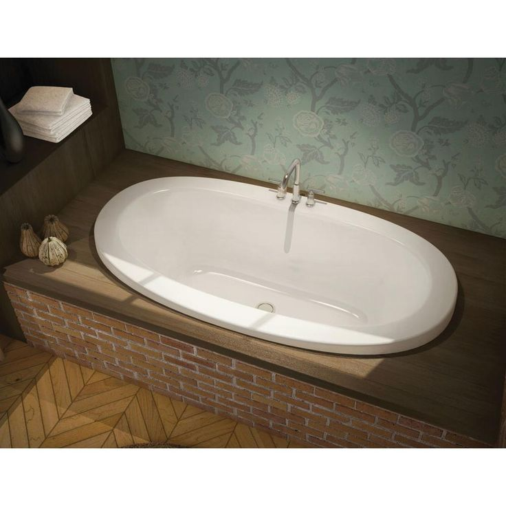 Maax - 171019 sales at Pipeline Supply Inc. Drop In Soaking Tubs in a decorative White finish
