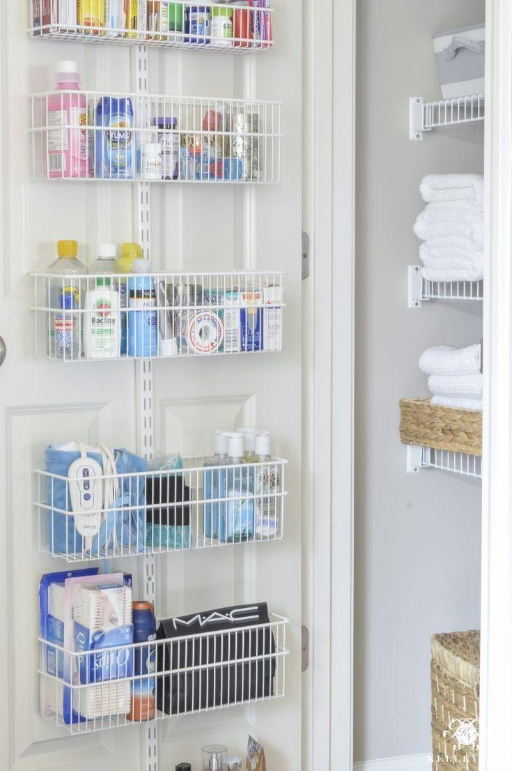 Organized Medicine Linen Closet Wie Organisieren Sie Ihre