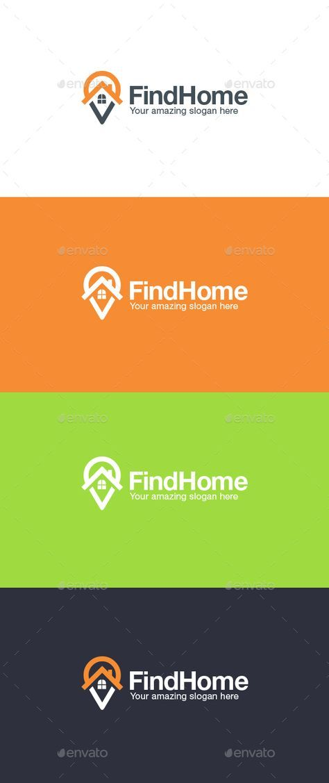 Home Finder Logo Template Apps Best Collect Compass Connections