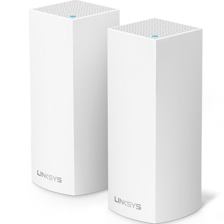 ICYMI: Linksys Velop Tri-band Whole Home WiFi Mesh System 2-Pack (coverage up to 400...