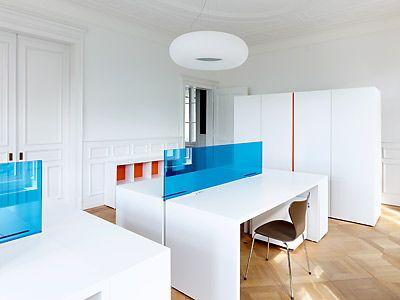Office in Neuchatel, Switzerland, by Manini Pietrini Architects