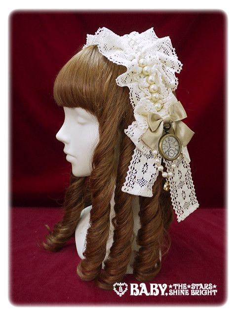 Alice and the Pirates Nostalgic time travel head dress style head bow