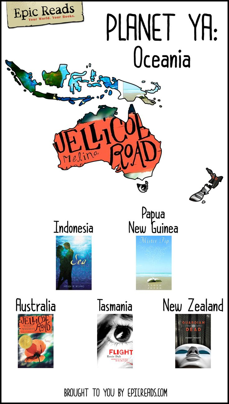 Read Your Way Across The World With This Map Created By Epic Reads!