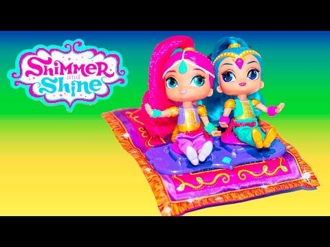 SHIMMER AND SHINE Nickelodeon Shimmer and Shine Toys a Shimmer and Shine Video Toys Review - YouTube