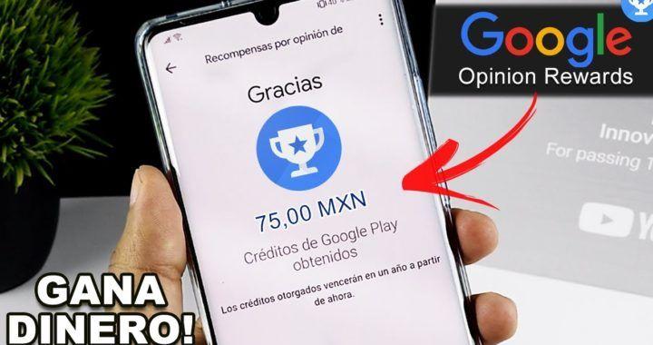 La App de Google para GANAR DINERO Fácil Y Rápido ha vuelto! Google Opinion  Rewards Muchas Encuestas | Gá… | Ganar dinero facil, Dinero facil y rapido,  Ganar dinero