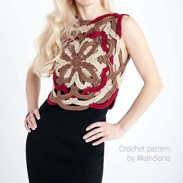 "My experiment with crocheting method. Вот за что я люблю крючок - фантазии нет предела 😀 Пожалуй, надо развить тему ""плетения"" в новых вещах  #crochetpattern #crochettop #crochetlove #etsy #crochet #crochetlove #crochetdress #crochetpattern #croptop #crochettop #crochetcroptop #yarn #cotton #summercrochet #grannysquare #handmade #ilovecrochet #crocheting #haken #kandianapattern #вязаниемосква #crochê #uncinetto #virka #etsy #etsysell #crochetseller #crochetinspiration #crochetforbeginners…"